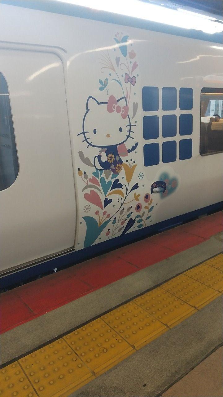 キティちゃんの電車