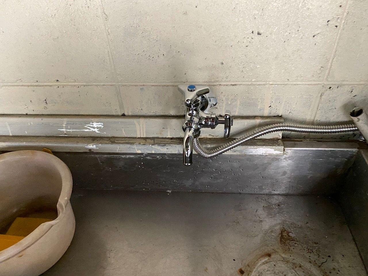 水道の分岐工事